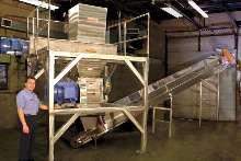 Dual Stage Shredding System meets secure shredding needs.