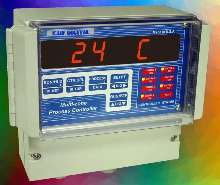 Controllers accept variety of temperature/process inputs.