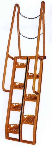 Alternating-Tread Stairs offer OSHA compliance.