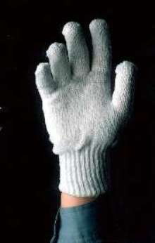 Work Gloves are 35% cotton, 55% poly, and 10% rayon.
