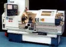 CNC Lathe combines turning and large machining capacity.