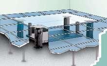 Vibration-Free Islands protect sensitive equipment.