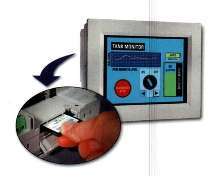 Operator Interface includes slot for compact flash card.