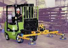 Vacuum Lifter mounts onto forklift trucks.