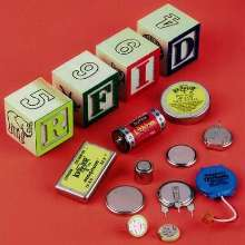 Lithium Batteries power RFID transponders.