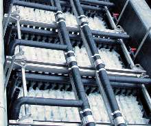 Two-Stage Membrane Bioreactor treats industrial wastewater.