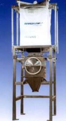 Bulk Bag Discharger suits height-restricted areas.