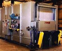 Twin-Lane Belt Conveyor Ovens preheat aluminum ingots.
