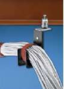 Cable Support System offers 1 in. bend radius control.