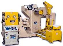 Multifunction Machine feeds, straightens, and unwinds coil.