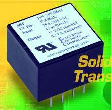 Solid State Transformer accepts wide input voltage range.