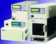 HPLC System delivers solvents at pressures of 15,000 psi.