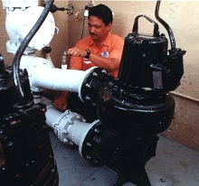 Submersible Pumps do not require cleaning.