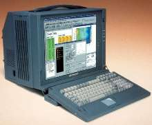 Portable Workstation has 250 nit, 17 in. LCD monitor.