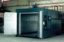 Walk-In Oven suits heat treating and paint baking.