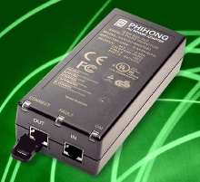 Power Injectors suit Power-over-Ethernet applications.