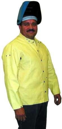Pigskin Welding Jacket is spark- and spatter-resistant.