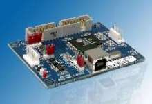 Interface Board offers 12 Mbps USB interface to host PC.