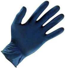 Disposable Nitrile Gloves provide tactile sensitivity.