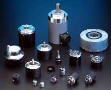 Rotary Encoders are offered in multiple types and sizes.