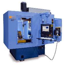 Laser System provides percussion and trepan drilling.