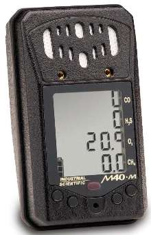 Multi-Gas Monitor is suited for mining applications.