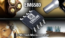 Microcontroller targets battery-operated devices.