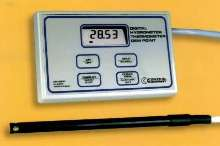 Thermometer/RH/Dew Point Meter samples 1 1/2 times/sec.