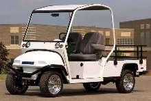Multi-Purpose Utility Vehicle offers automotive styling.