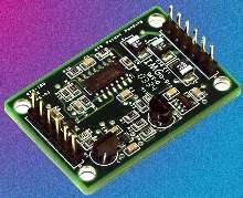Dual-Sensor Board measures air temperature and velocity.