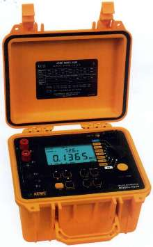 Micro-Ohmmeter conducts inductive and resistive tests.