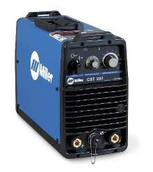Welding Power Source features lightweight, portable design.