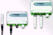 RH/T Transmitter utilizes interchangeable probes.