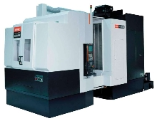 Horizontal Machining Center incorporates 40-taper spindle.