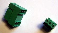 Terminal Block Headers have 2-row, space-saving design.