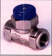 Steam Trap features ceramic insulated cap.