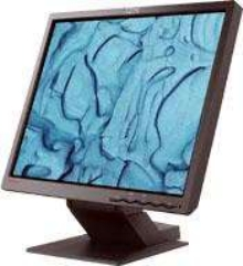 Computer Monitor offers 19 in. viewable image size.