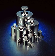 Precision Weights are made of austenitic stainless steel.