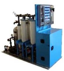Wash Water Treatment System utilizes electrocoagulation.