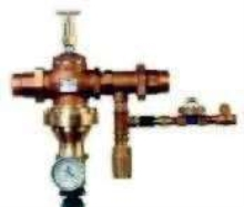 Mixing Valve provides thermostatic control.