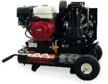 Portable Air Compressors come in electric and gas models.