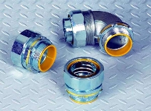 Liquidtight Connectors withstand abusive environments.