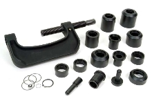 Automotive Kit services ball joints on domestic vehicles.