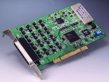 Analog Output Universal PCI Card has high-density design.