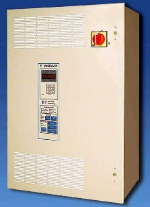 AC Drives feature bypass and electronic control.