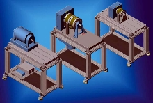 Dynamometer Tables feature casters for smooth mobility.