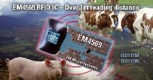 RFID Integrated Circuit facilitates animal identification.
