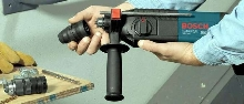 Rotary Hammer features 3 modes of operation.