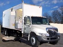 Trucks facilitate heavy duty mobile document shredding.