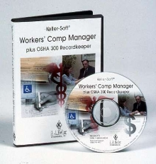 Software automates workers' comp and OSHA 300 recordkeeping.